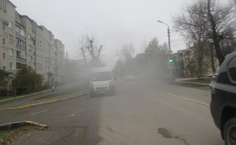 В Туле на Одоевском шоссе маршрутка сбила 15-летнего парня