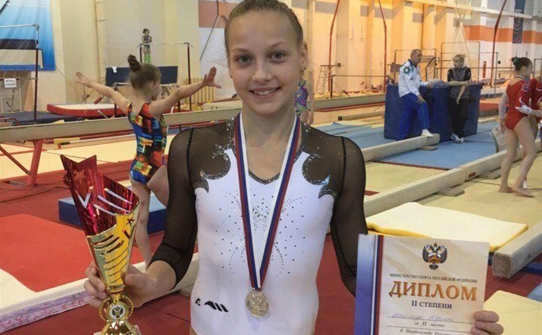 Тульская гимнастка завоевала серебро на первенстве России