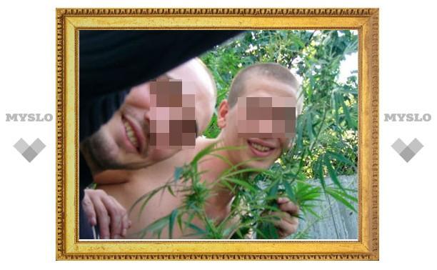 На огороде у жителя Донского нашли коноплю