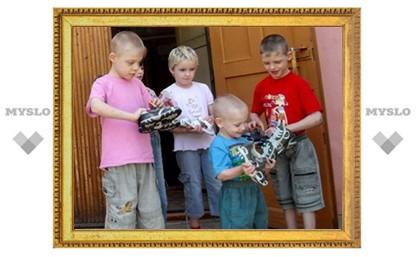 Щекинским сиротам подарят праздник