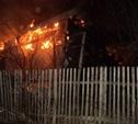 На пожаре в Ленинском районе пострадал человек