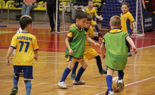 Юные тульские футболисты победили на домашнем турнире
