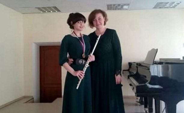 Тульская флейтистка взяла золото на XV Дельфийских играх