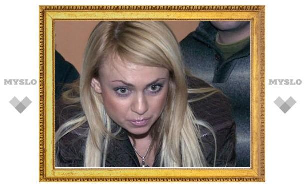 Яна Рудковская дает показания в тульском суде