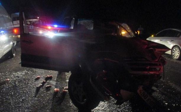 В тройном ДТП на Орловском шоссе виновен водитель «Нивы»