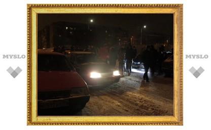 В Новомосковске играют в «Ночные автопрятки»