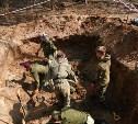 В Арсеньевском районе поисковики подняли останки ещё 30 красноармейцев