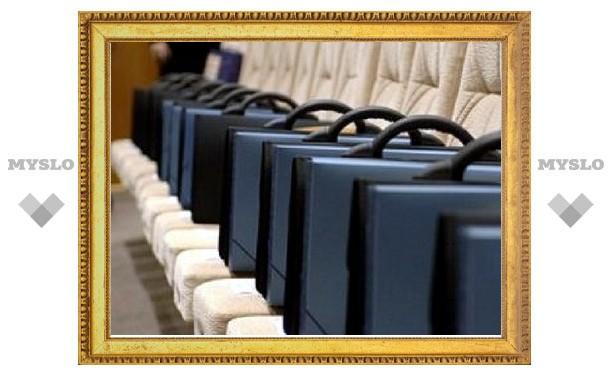 За год в Тульской области стало почти на 30% меньше чиновников
