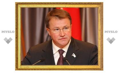 Тульский экс-губернатор Дудка попал в рейтинг «федералов»