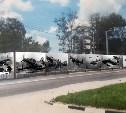 Напротив мемориала «Защитникам неба Отечества» установят баннер с самолётами