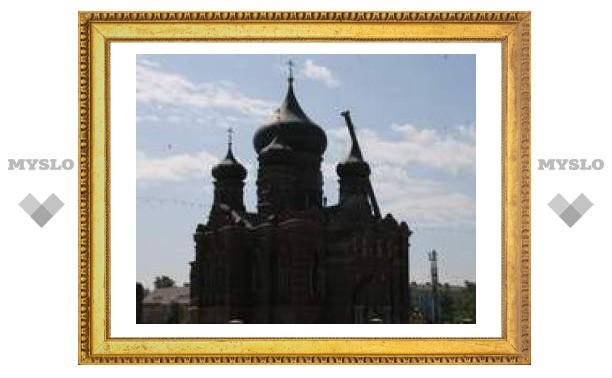 """""""Черную церковь"""" в Туле продолжают реставрировать"""
