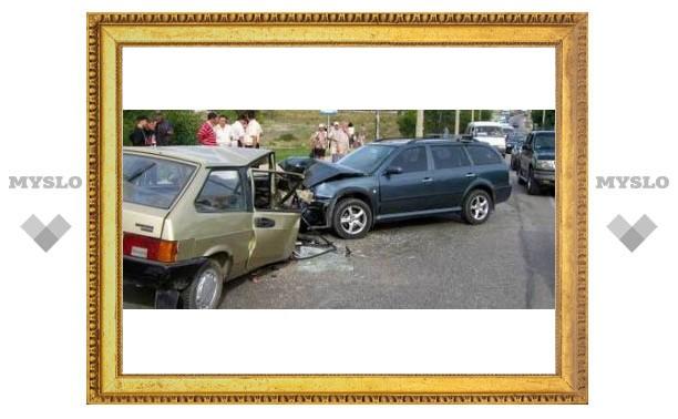 В Туле стало меньше аварий