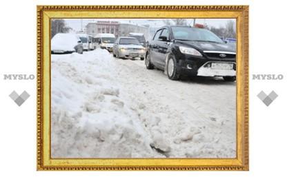 В Туле за день выпадет недельная норма снега