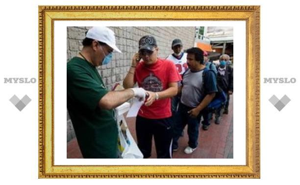 В Мексике уточнили число погибших от свиного гриппа