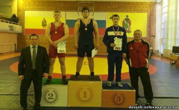 Узловчанин стал бронзовым призёром первенства ЦФО по греко-римской борьбе