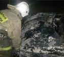 Ночью на ул. Кауля в Туле сгорела «десятка»