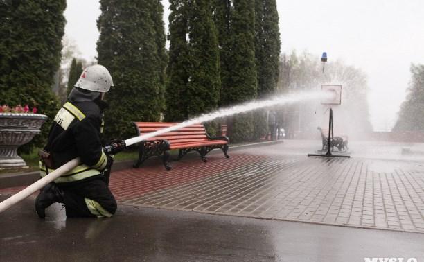 Тульские спасатели отпразднуют 367-ю годовщину пожарной охраны России в Центральном парке