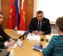 Алексей Дюмин провёл личный приём граждан в Тёпло-Огарёвском районе