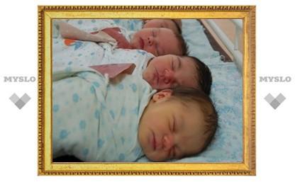 В 2010 году в Туле родилось 625 малышей