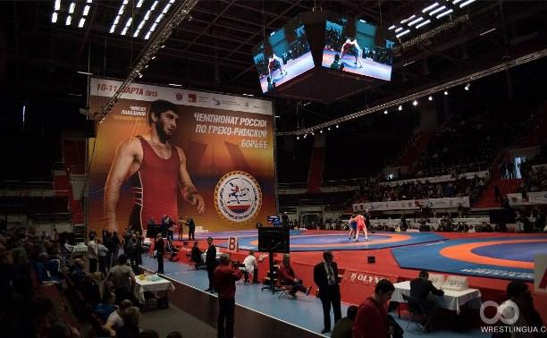 Узловской борец Илья Глазков стал пятым на чемпионате России