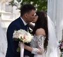 В Тульском кремле одновременно поженились 10 пар