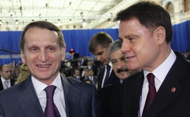 Владимир Груздев стал участником  заключительного дня XIV съезда партии «Единая Россия»