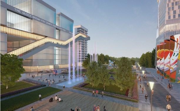 Высотка в 36 этажей и аквапарк в Туле: все подробности проекта