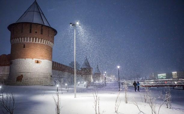 За выходные в Туле выпало 12,6 мм снега
