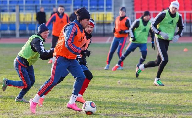 «Арсенал» провёл открытую тренировку на Центральном стадионе