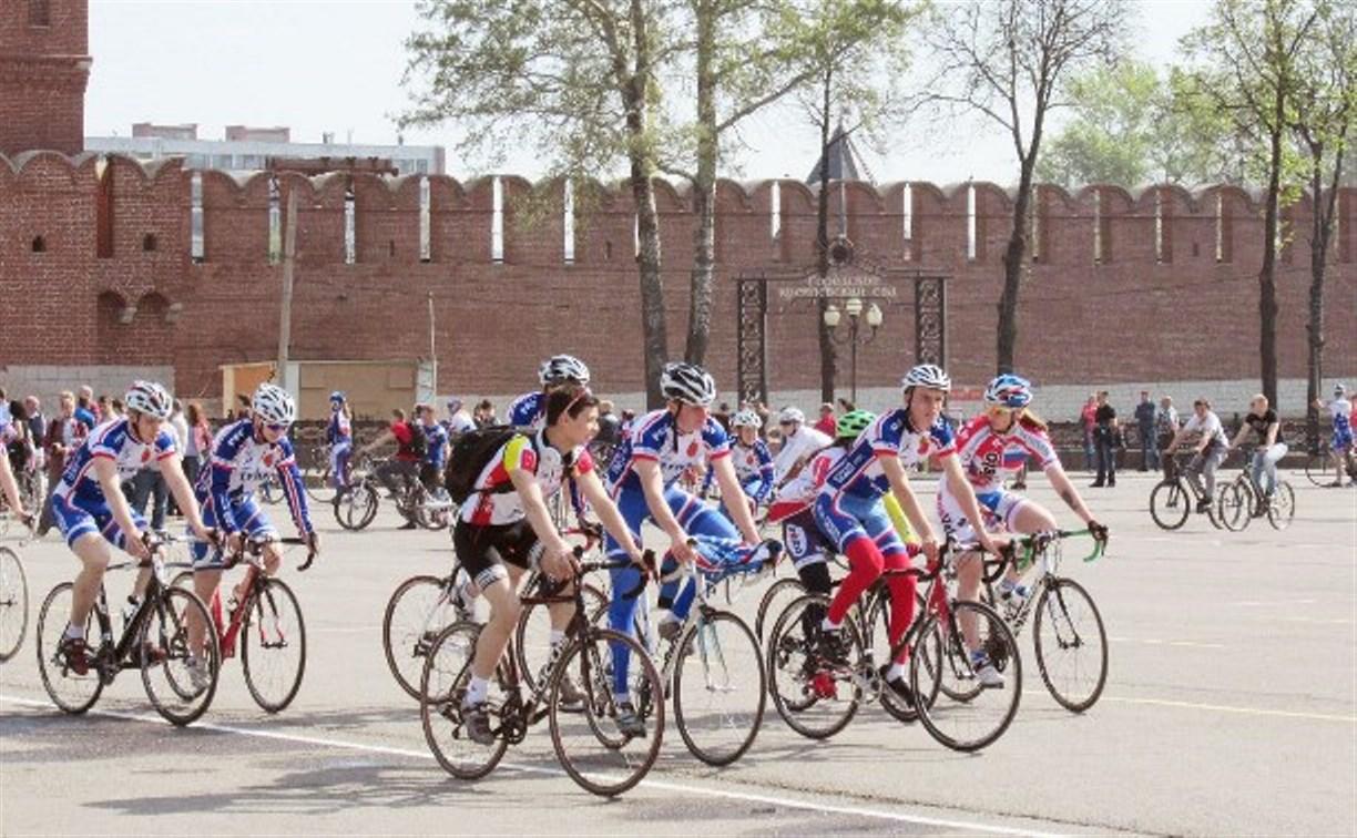 1 мая в Туле пройдет семейный велопарад