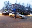 В Туле столкнулись Chevrolet и Nissan