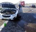 Четыре человека пострадали в улетевшем в кювет Chevrolet на трассе М-4 «Дон»