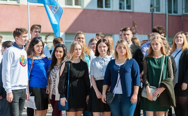 В Туле более 2500 учащихся вузов и колледжей посвятили в студенты