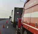 На М-4 «Дон» в ДТП с грузовиками погиб мужчина