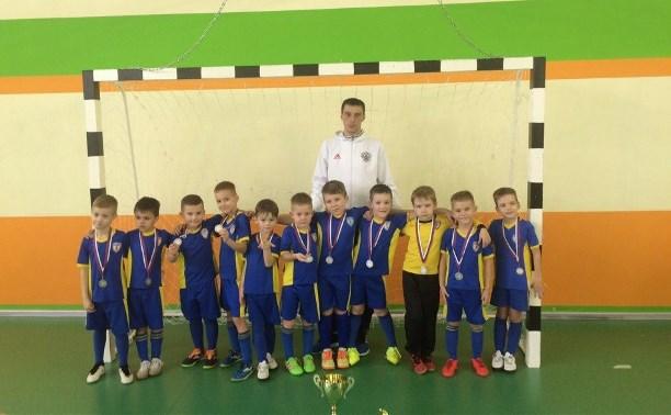Юные футболисты из Тулы добыли серебряные медали на «Кубке Калуги»