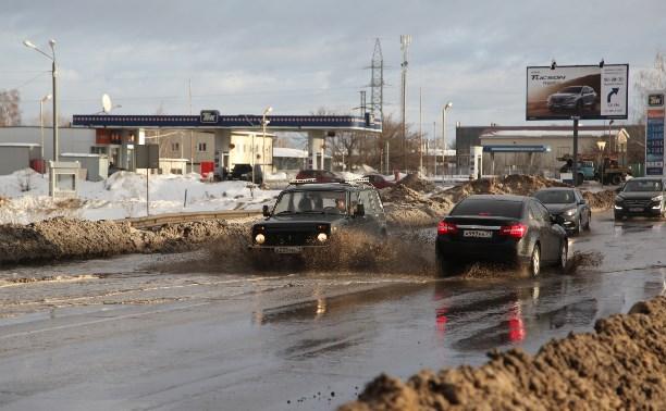 Восточный обвод и Рязанку затопило