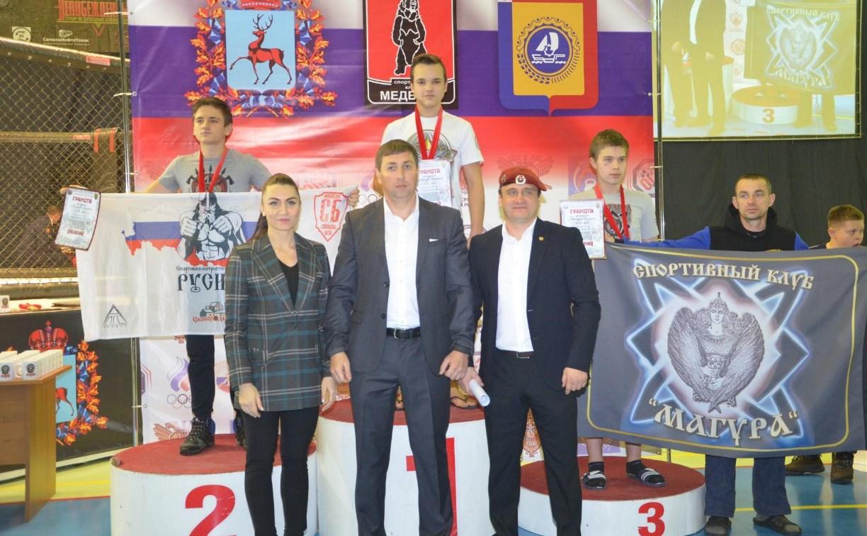 Тульские бойцы привезли медали с международного турнира