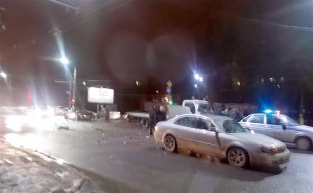 В аварии в центре Тулы пострадали два ребенка