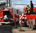 Во время пожара в Заречье чуть не погиб 80-летний мужчина