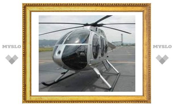 При аварийной посадке вертолета вблизи МКАДа пострадал пилот