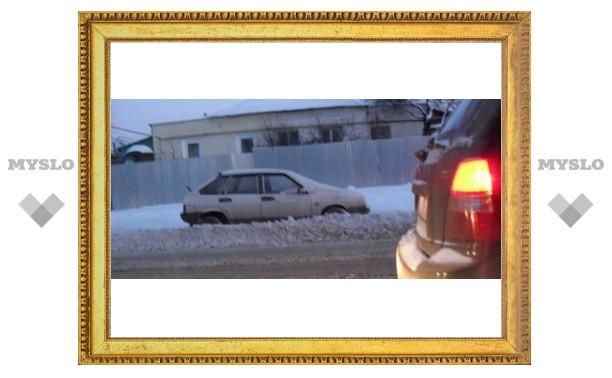 Снегопад в Туле: как туляки добирались до работы