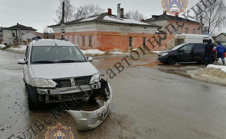 В ДТП в Белеве пострадала женщина