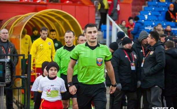 Матч «Ростов» — «Арсенал» рассудит Алексей Сухой