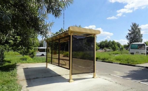 На центральных улицах Тулы установлено 65 остановочных павильонов