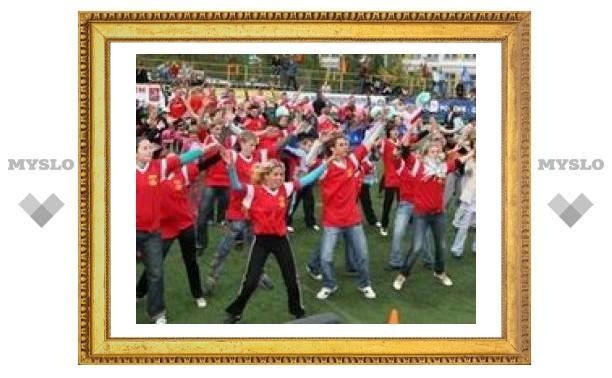 Тульских школьников научат делать зарядку