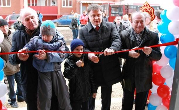 Ещё 20 семей получили ключи от своих новых квартир в Скуратово