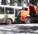 В Туле пассажирский автобус столкнулся с КамАЗом