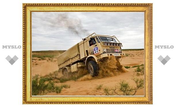 Тульский этап ралли «Шелковый путь - 2011» стартует с Куликова поля