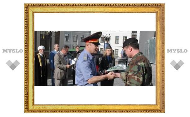 Тульские милиционеры в Ингушетии