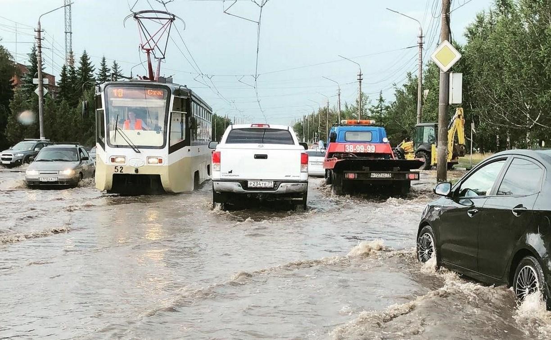 Администрация Тулы просит жителей сообщить о местах подтоплений